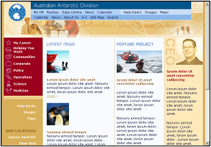 AAD Intranet site